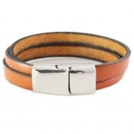 Leren Naam Armband-BA0636